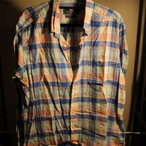Men's Vineyard Vines Plaid Button Up